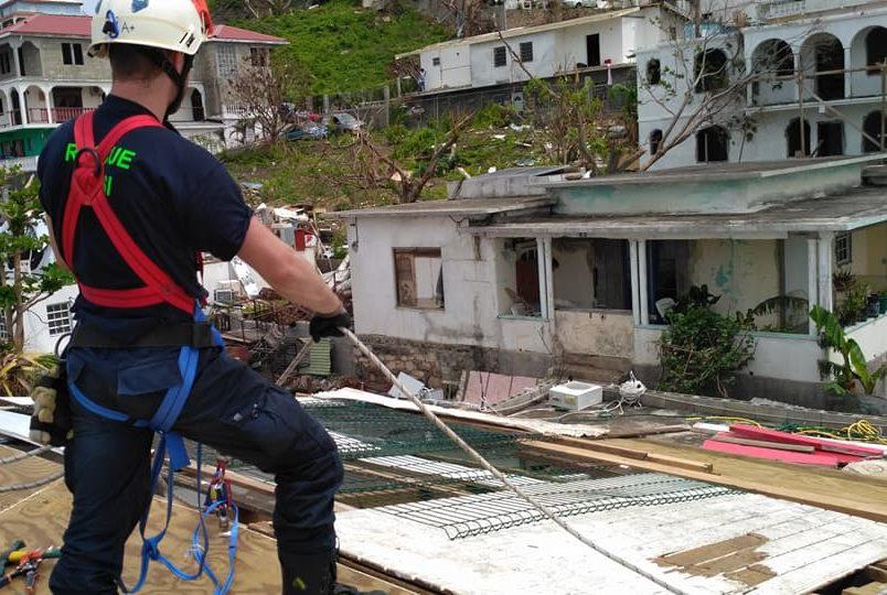 Intervention de FAUSI lors de l'ouragan Irma, Financée par la Fondation de Lille