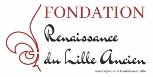Logo de la Fondation Renaissance du Lille Ancien, sous égide de la Fondation de Lille