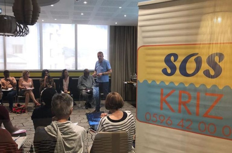 Programme de SOS Kriz financée par la Fondation de Lille à l'issue de l'ouragan Irma