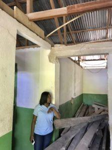 Projet du Secours Populaire Français financée par la Fondation de Lille lors de l'ouragan Irma Crédits photographiques : Secours Populaire Français