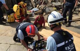Action menée par FAUSI lors de l'Ouragan Irma financée par la Fondation de Lille, Crédits photographiques : FAUSI