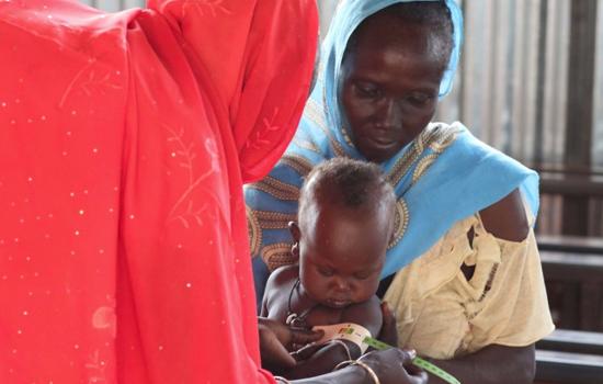 Action menée par MEDAIR au Soudan du Sud financée par la Fondation de Lille, Crédits photographiques : MEDAIR
