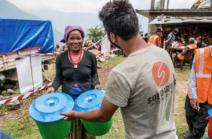 Action menée par Solidarité International au Népal financée par la Fondation de Lille, Crédits photographiques : Solidarités International