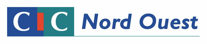 Logo du CIC Nord Ouest, partenaire du Prix Littéraire Alain Decaux de la Francophonie organisé par la Fondation de Lille