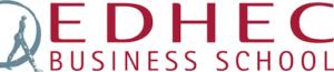 Logo de l'EDHEC, partenaire de la Fondation de Lille dans le cadre des Bourses de l'Espoir