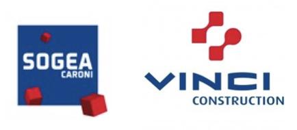 Logo de Sogea Vinci Construction, partenaire de la Fondation de Lille dans le cadre des Bourses de l'Espoir