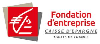 Logo de la Fondation Caisse d'Epargne Hauts-de-France, partenaire de la Fondation de Lille dans le cadre des Bourses de l'Espoir