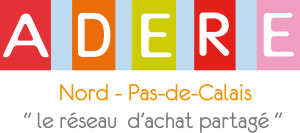 Logo de l'ADERE, partenaire du Fonds Solidarité Climat porté par la Fondation de Lille