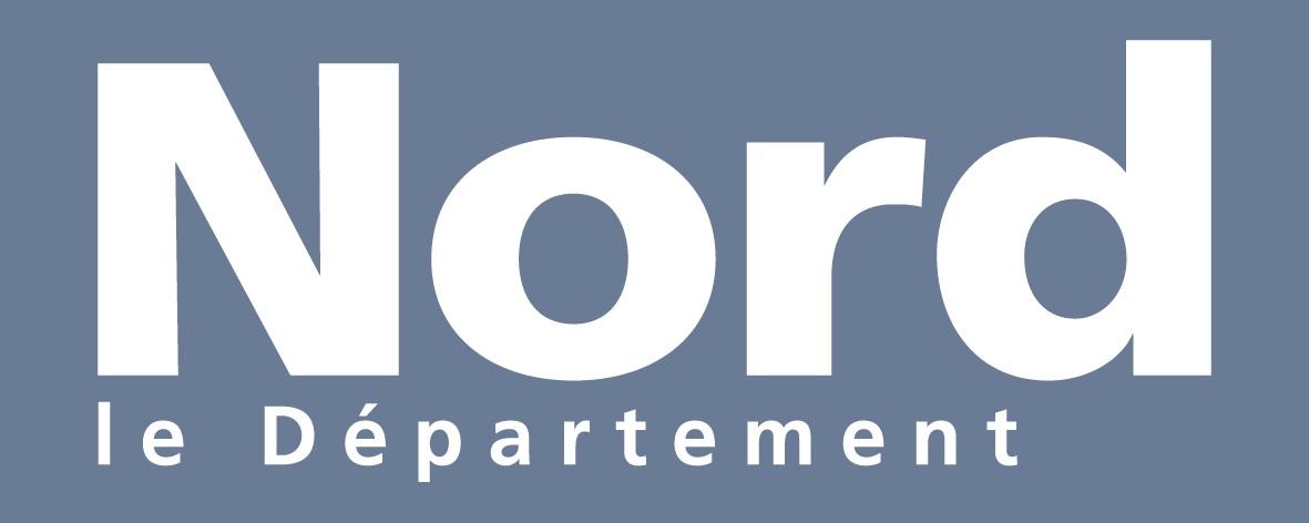 Logo du Département du Nord, Partenaire de la Fondation de Lille